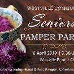 Seniors Pamper Party
