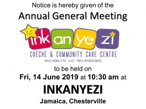 Inkanyezi AGM 14JUN19