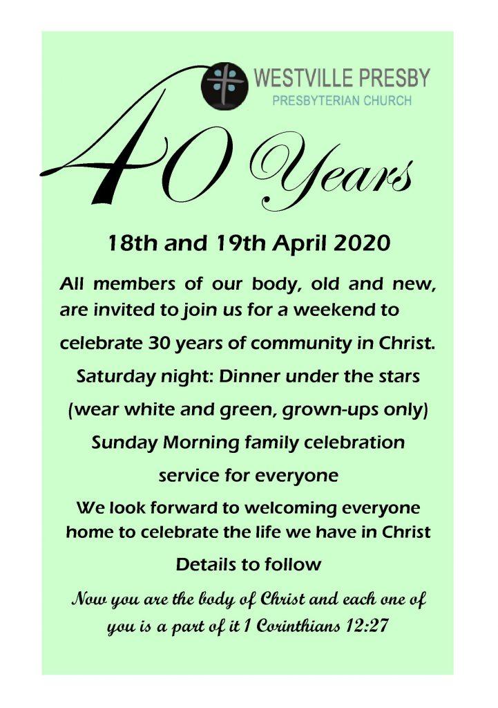 WPC celebrates 40 years