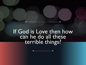 God is He Love